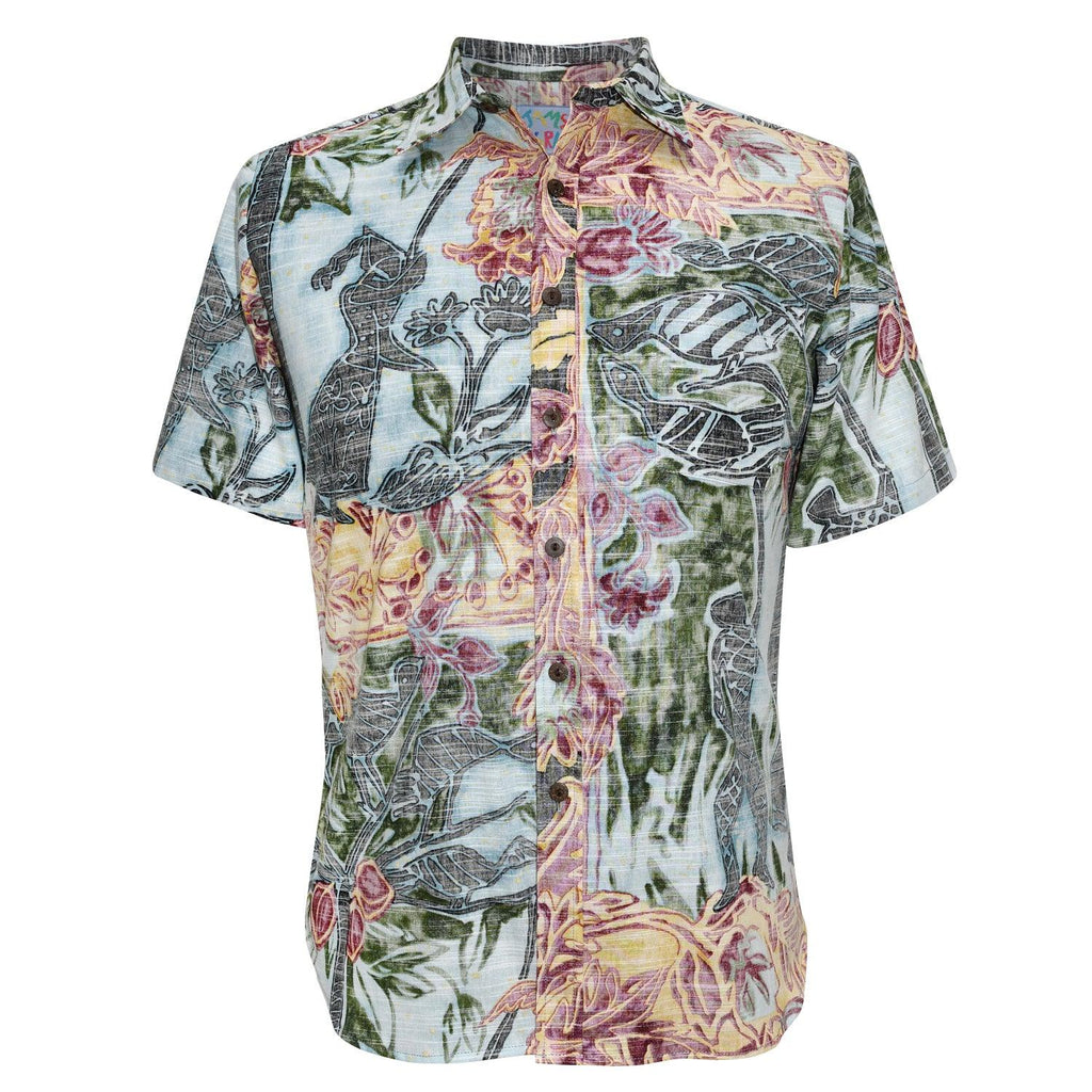 Men's Archival Collection Modern Fit Shirt - Eden Yukata Reversed - jamsworld.com