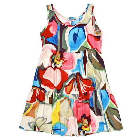 GIRLS' Janice Dress : XS (4/5) - L (12/14) - Tavern