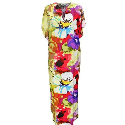 Casablanca Dress- Flower Splash