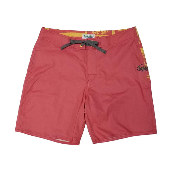 Contemporary Boardshorts - Halawa Red - jamsworld.com