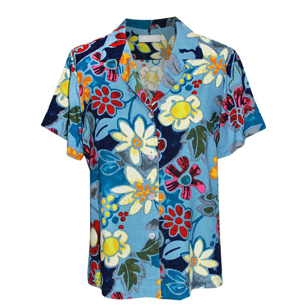 Print Top - Pacific Flora