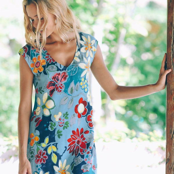 Sherry Dress - Pacific Flora - jamsworld.com