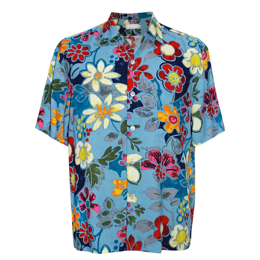 Men's Retro Shirt - Pacific Flora