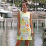 Jackie Dress - Koi Pond