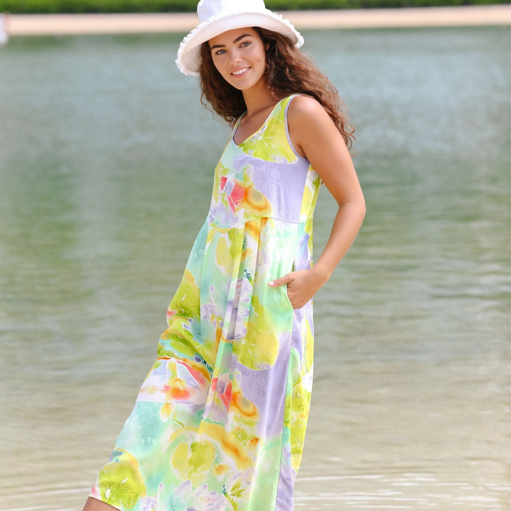 Janice Dress - Koi Pond