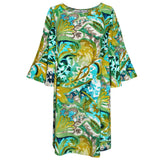 Harper Dress - Mosaic Fern