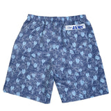 Men's Nylon Super Jams - Taro Leaves Navy - jamsworld.com