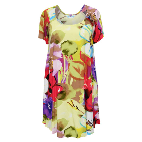 Doris Dress - Flower Splash