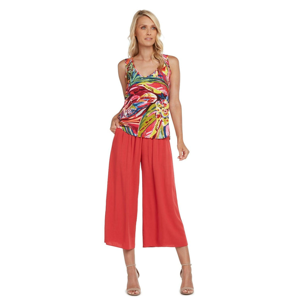 Hawaiian Print Tank Tops - Joy Fest - jamsworld.com