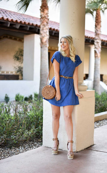 NEW FAVORITE STRIPE DRESS