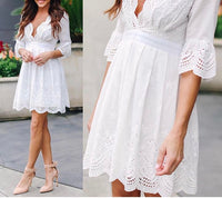 ANGEL IN DISGUISE DRESS - OFF WHITE