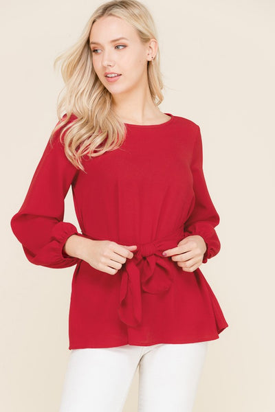 LOVE AT FIRST SIGHT TOP - RED