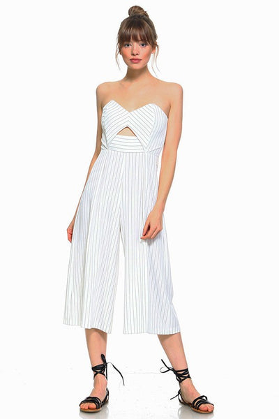 GAME CHANGER STRIPE JUMPSUIT