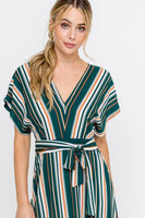 TRANSITIONAL TREND MIDI DRESS : HUNTER GREEN