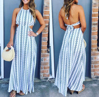 IN MY DREAMS HALTER MAXI