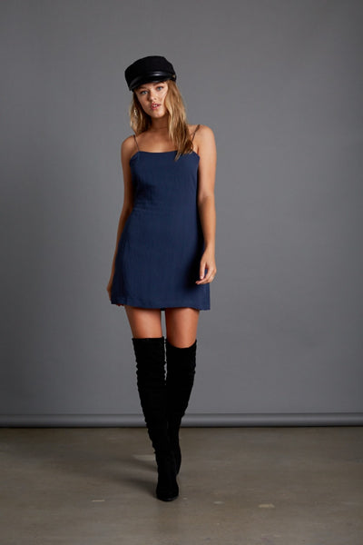 GOING PLACES DRESS INDIGO