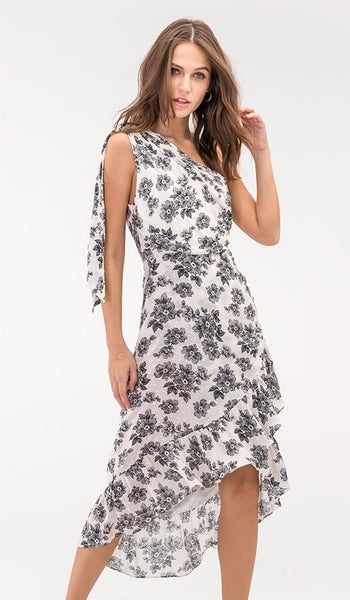 SORRENTO FLORAL DRESS