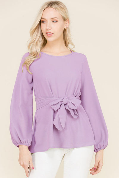 LOVE AT FIRST SIGHT TOP - LILAC