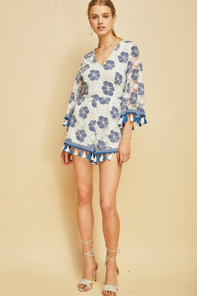 aa818df1d925 CANCUN FLORAL EMBROIDERED ROMPER  CANCUN FLORAL EMBROIDERED ROMPER ...