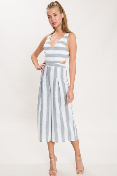 STRIPE DONE RIGHT JUMPSUIT