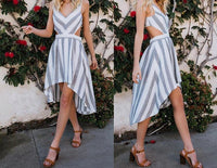 STRIPE DONE RIGHT DRESS