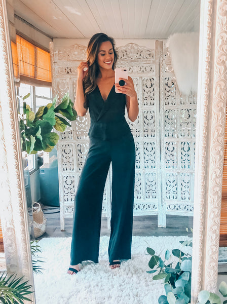 TUXE LUXE JUMPSUIT