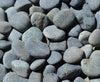 Image of Black Mexican Beach Pebble 1-2""