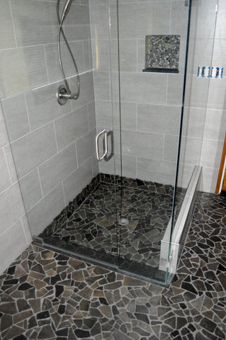 Mosaic Black Tile