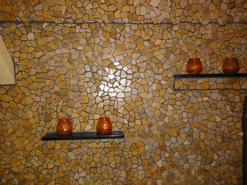 Mosaic Yellow Tile