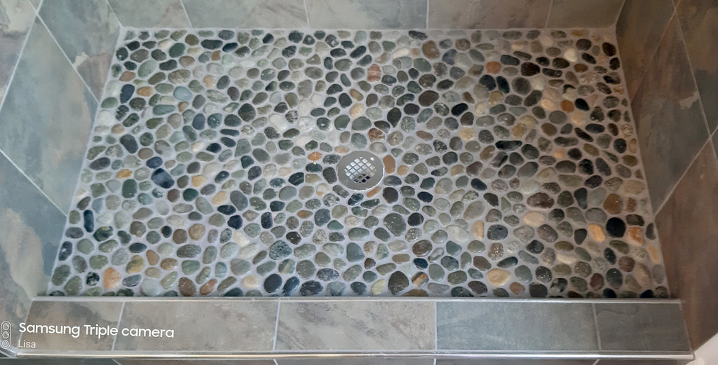 Pebble Tile Mosaics Unique And Natural Tiles For Your Home