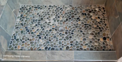 Natural Earth Pebble Tile