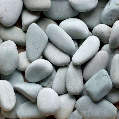 Green Seaside Beach Pebble, 2-3""