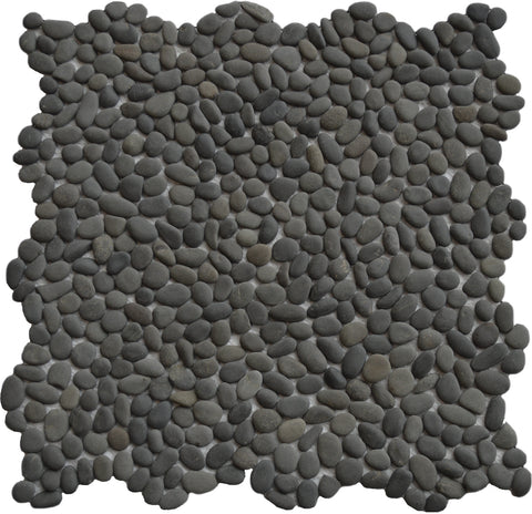 Mini Black Pebble Tile