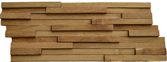 "Recycled Teak 3/4"" Natural Cladding"