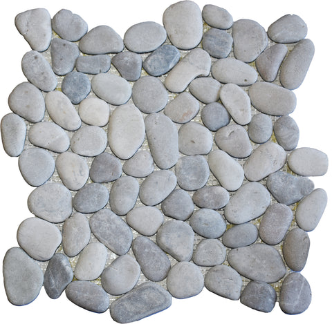 Natural Grey Pebble Tile