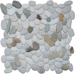 Natural Java Blend Pebble Tile