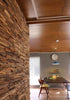 "Image of Recycled Teak 3/4"" Natural Cladding"