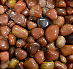 Red Jasper Exotic Pebbles