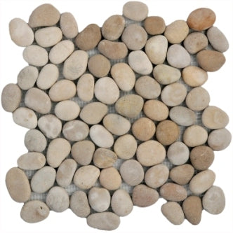 Natural Tan Pebble Tile