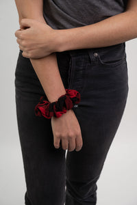 Country Liberty X Loop Red Scrunchie
