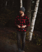 Red Plaid Fleece