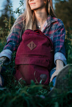 Maroon Backpack