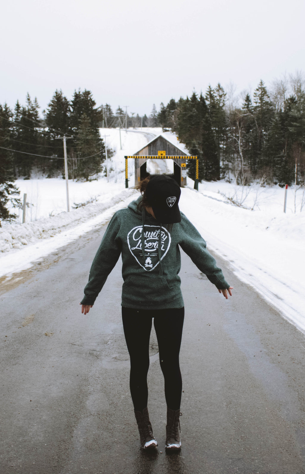 Heather Forest Hoodie