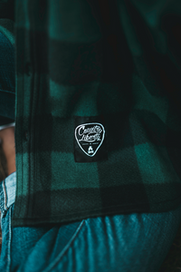 Premium Lightweight Forest Green Fleece