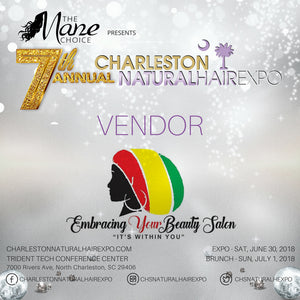 EYB Salon will be at the 7th Annual Charleston Natural Hair Expo