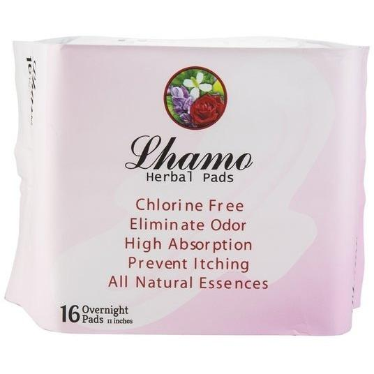 Lhamo Herbal Overnight Pads
