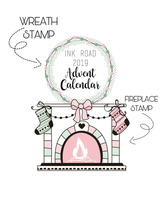 Ink Road Advent Calendar - PREORDER (STAMPS ONLY)