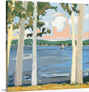 """Lake Macatawa"" Lindy Bishop Reproduction"