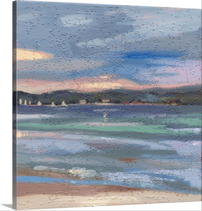 """West Bay Sunset"" Lindy Bishop Painting Reproduction"