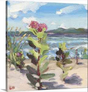 """Milkweed at Maple Bay"" Lindy Bishop Painting Reproduction"